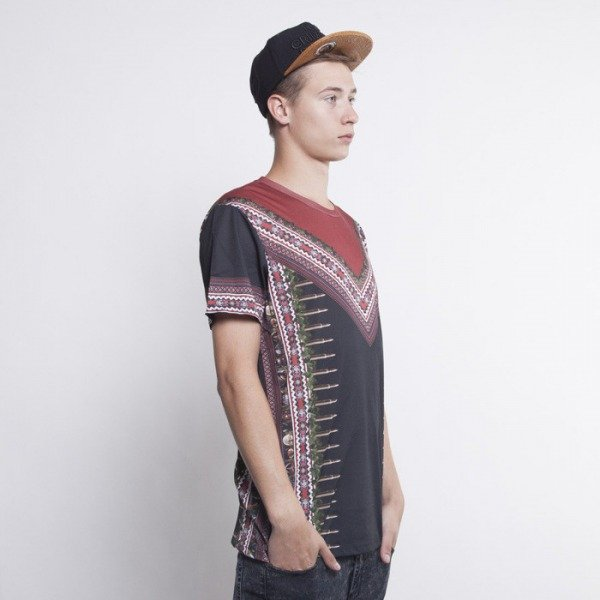 Criminal Damage t-shirt Dashiki multicolor
