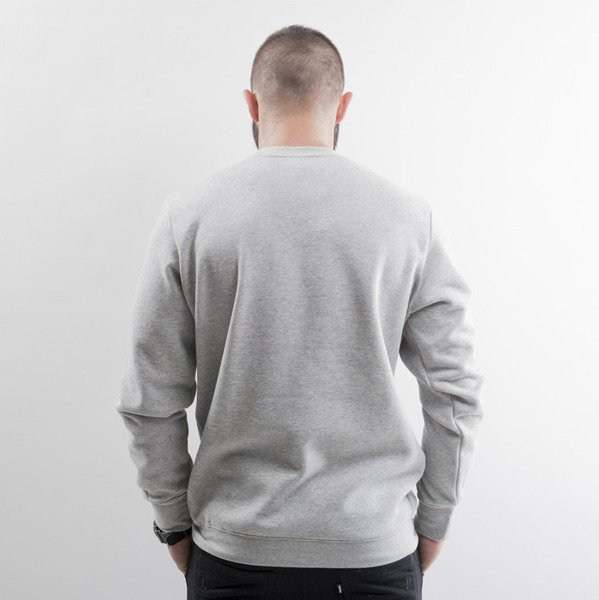 Crooks & Castles bluza crewneck Cocaine & Caviar heather grey / silver