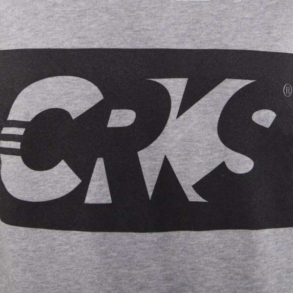 Crooks & Castles bluza crewneck Goalkeep heather grey