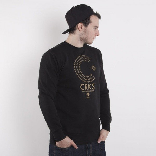 Crooks & Castles bluza crewneck Thomas Crown black