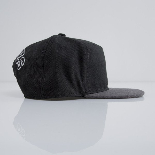 Crooks & Castles czapka snapback Crooks Block black / cement