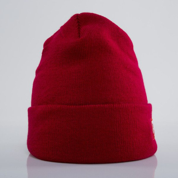 Crooks & Castles czapka zimowa Core Logo true red