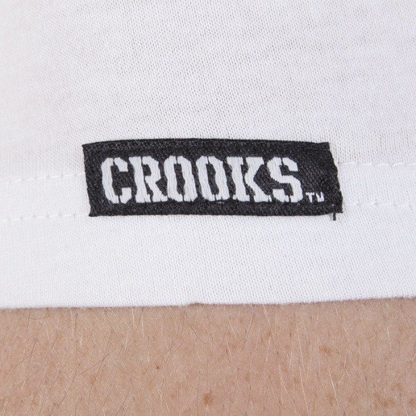 Crooks & Castles koszulka Striker white