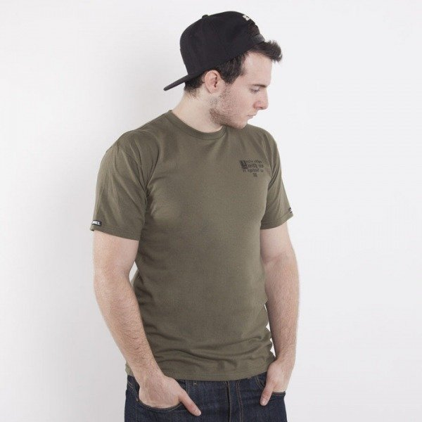 Crooks & Castles koszulka The Motto olive