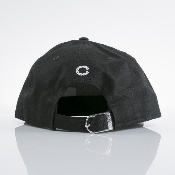 Crooks & Castles x New Era czapka strapback Core Logo black