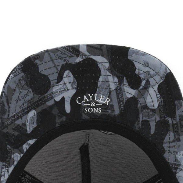 Czapka Cayler & Sons C&S WL Make It Rain Snapback Cap grey
