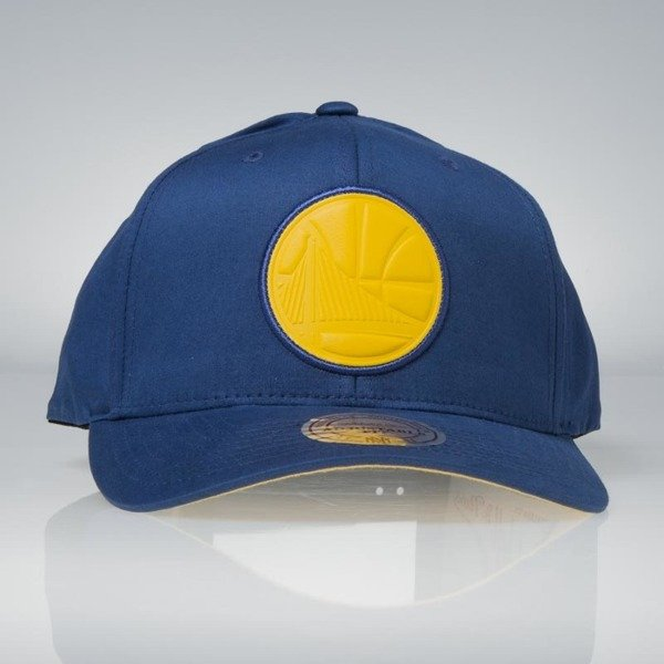 Czapka Mitchell & Ness snapback Golden State Warriors royal Hyper 110 Flexfit