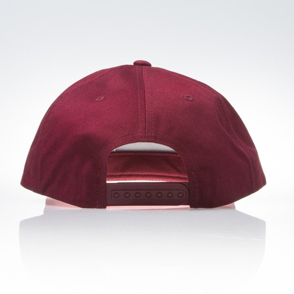 Czapka Obey Downtown Snapback wine