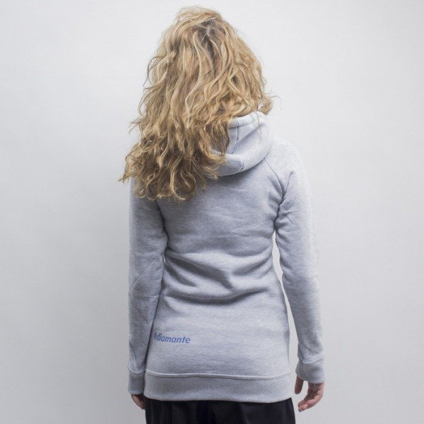 Diamante Wear bluza damska Chicks hoody grey