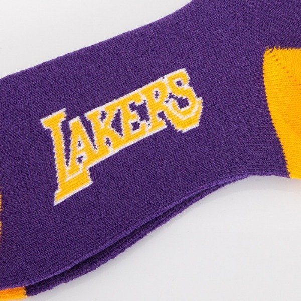 FBF skarpety NBA Los Angeles Lakers A501 Team Color