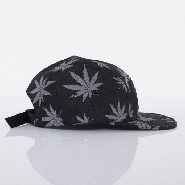 HUF czapka 5-panel Reflective Plantlife black