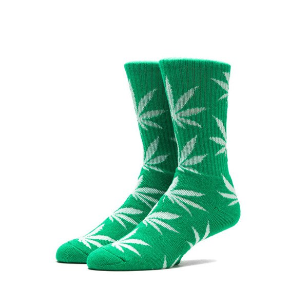 HUF skarpety Plantlife Crew green Glow In The Dark