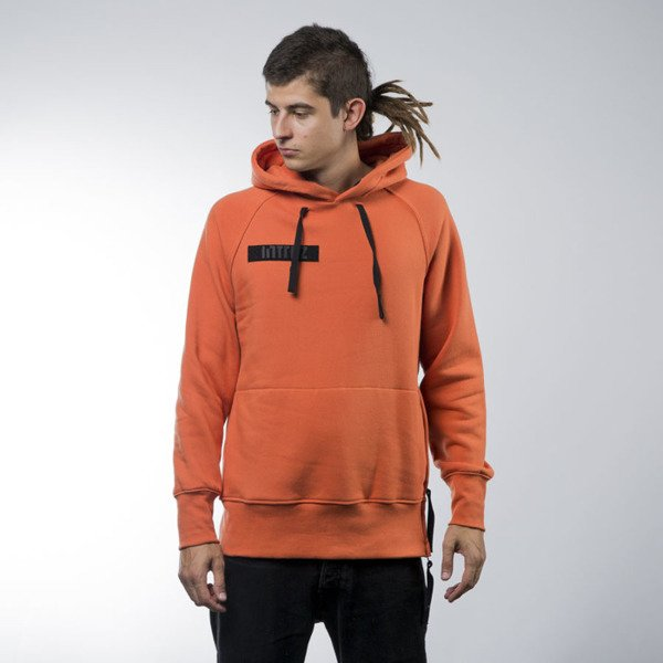 Intruz bluza sweatshirt Riot hoody orange