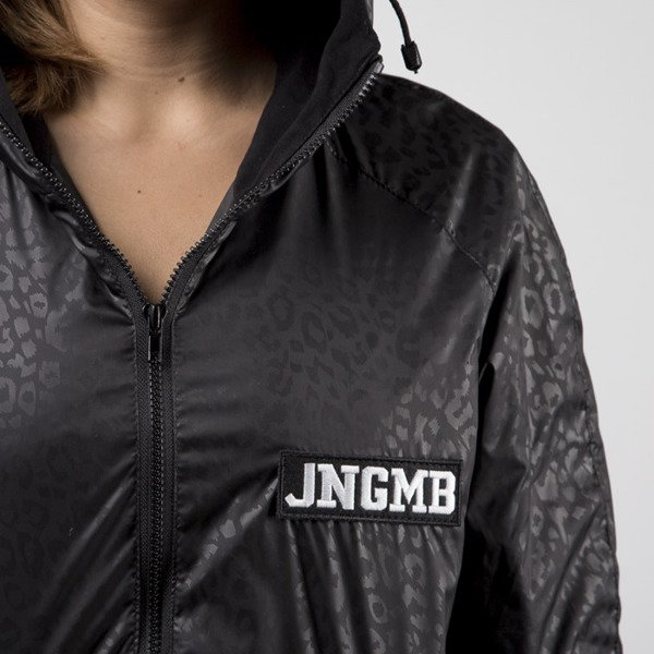 Jungmob kurtka Black Panther Rain Jacket black