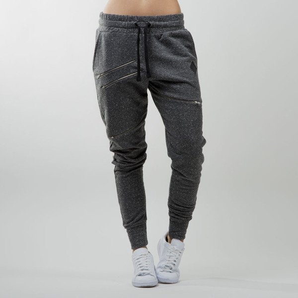 Jungmob spodnie Sliders Navy Pants dark grey
