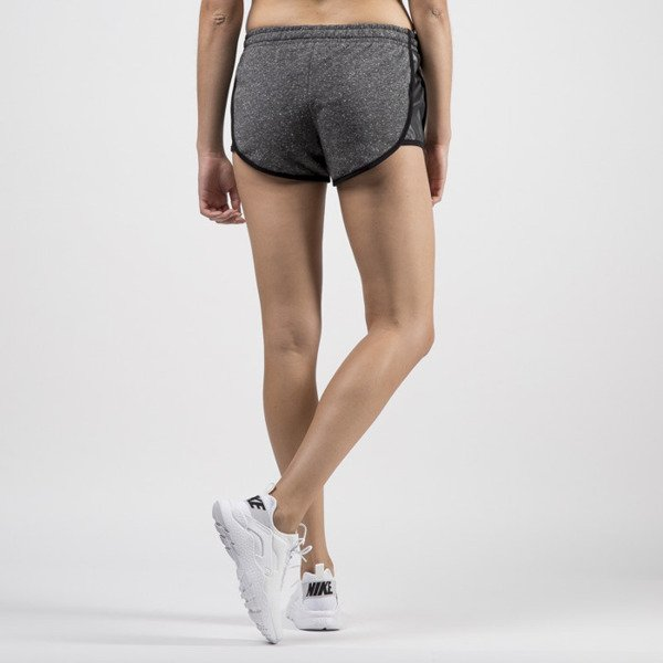 Jungmob szorty Grey Leather Shorts grey / black