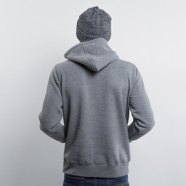 KOKA bluza Classic Laurel Tag Naked Camo hoody heather grey