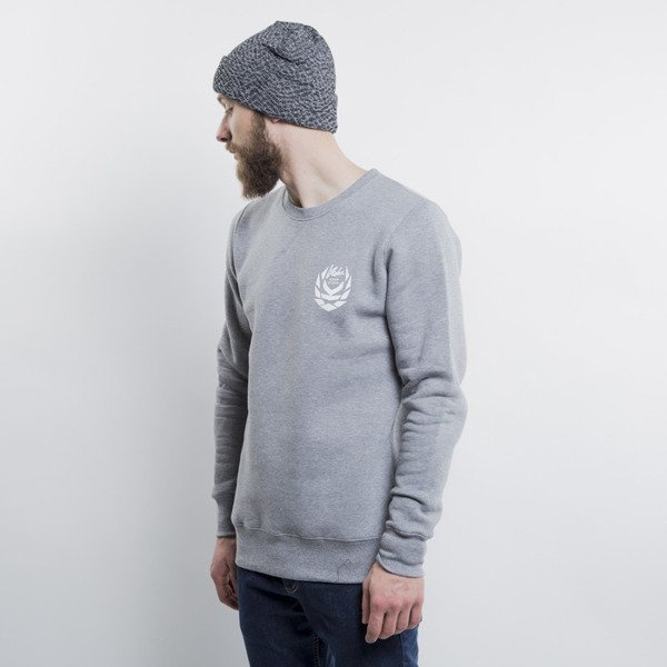 KOKA bluza Front & Back crewneck heather grey