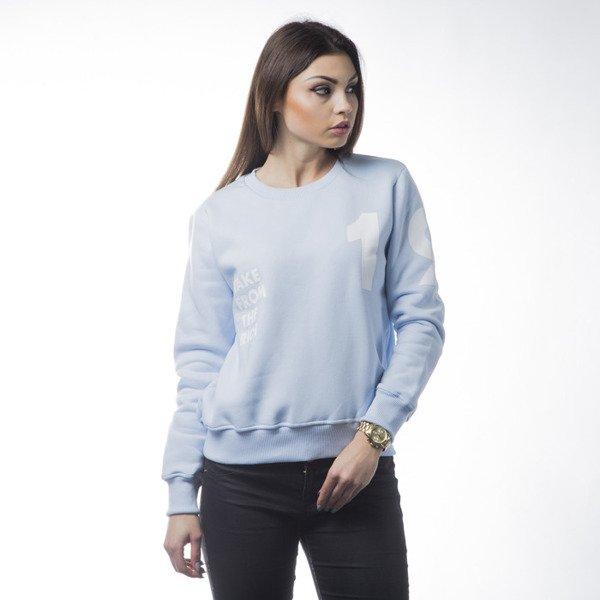 KOKA bluza crewneck Take From The Riche 1998 light blue WMNS