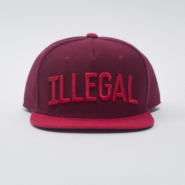 KOKA czapka snapback Illegal red