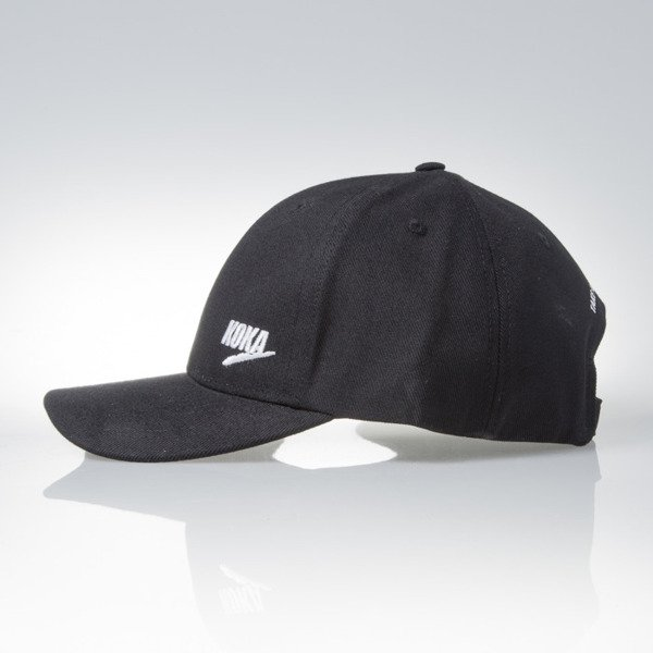 KOKA czapka strapback 6panel cap Take From The Rich Kickass black