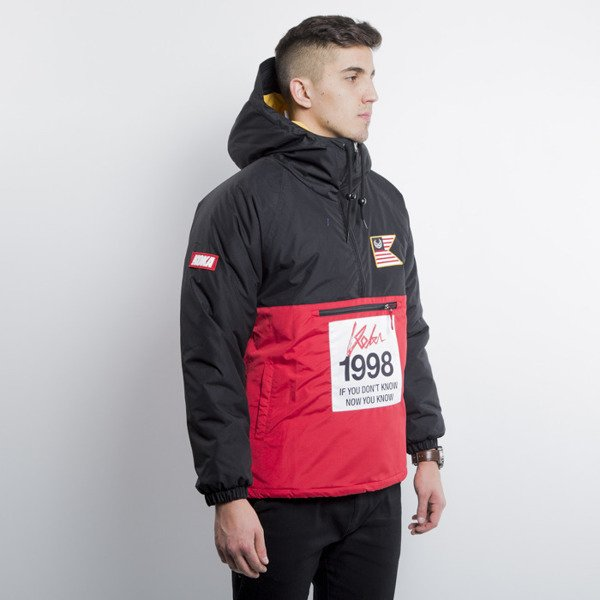 KOKA kurtka zimowa  Marathon Jacket black / red