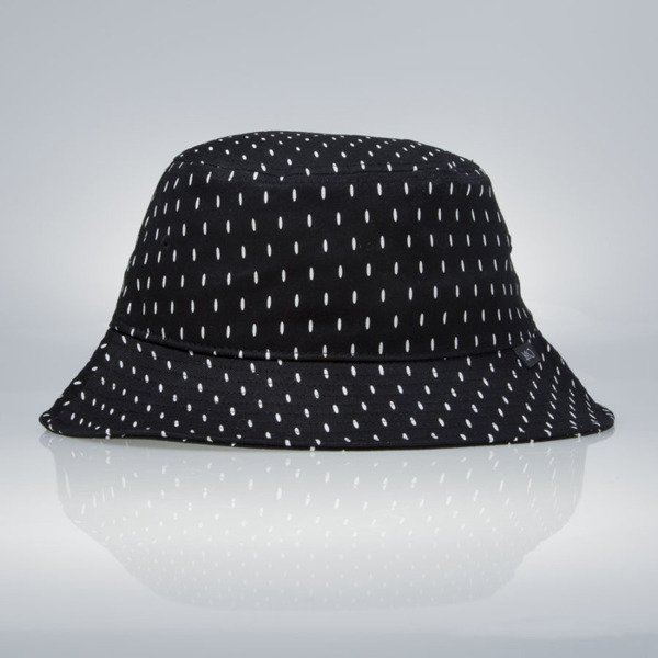 Kapelusz K1X Scribble Bucket Hat black / white
