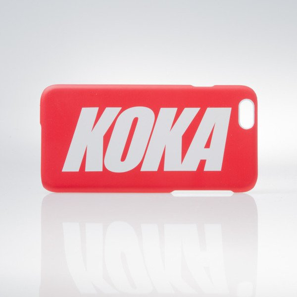 Koka etui Logo iPhone Case red 6/6S