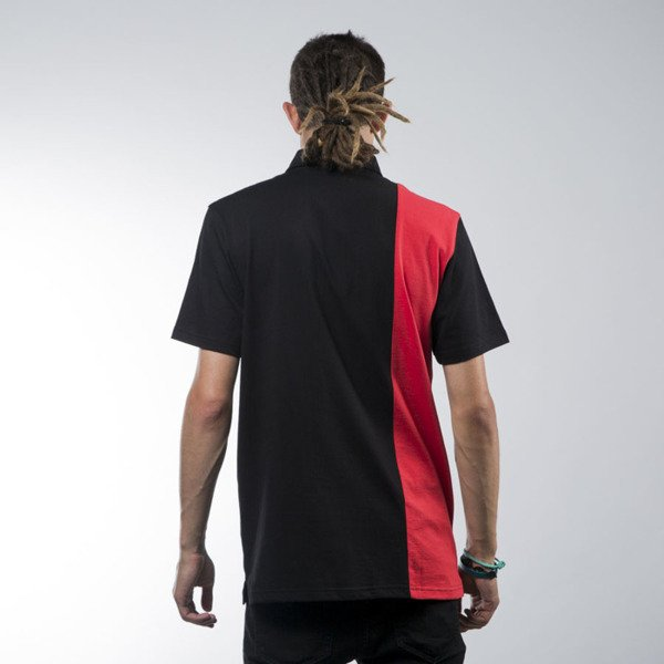 Koka koszulka International Polo black / red