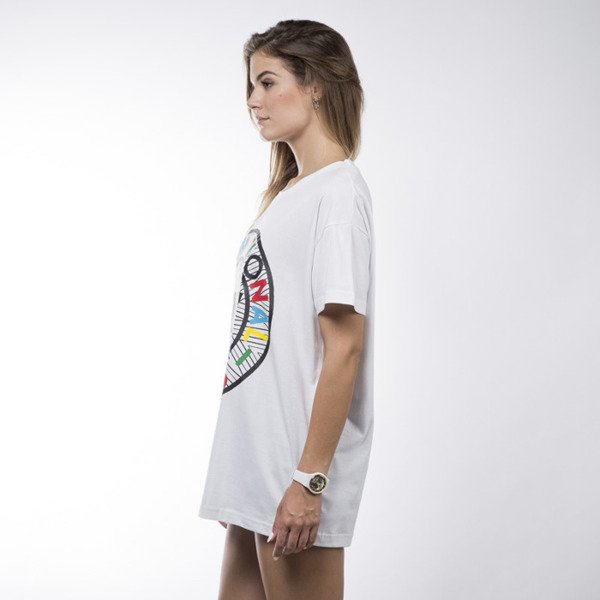 Koka tunika Symbol Dress white
