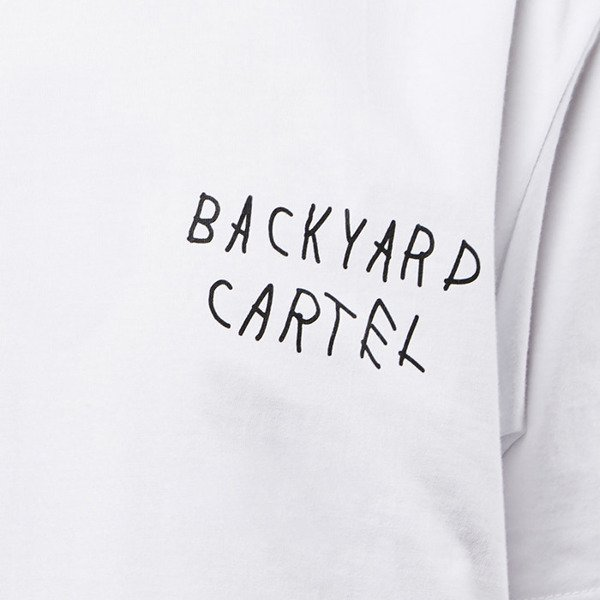 Koszulka Backyard Cartel T-Shirt Line white SS2017