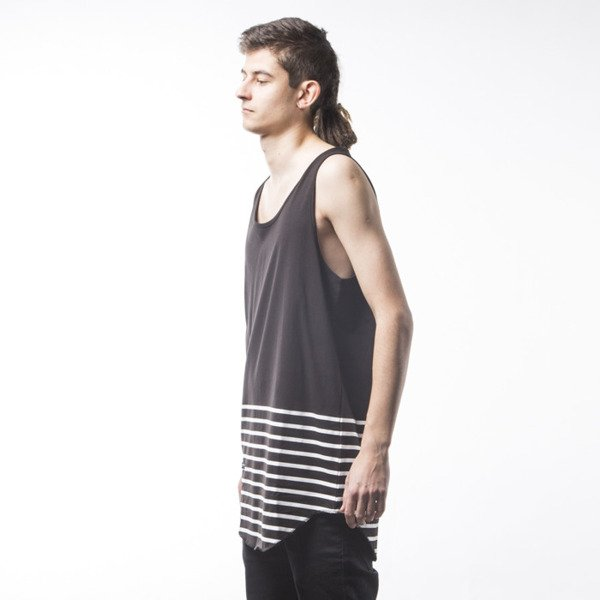 Koszulka Cayler & Sons BL On Point Scallop Tanktop black (BL-CAY-SS16-AP-28-02)