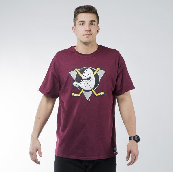 Koszulka Majestic Athletic Prism Large Logo Tee Anaheim Ducks purple (MAN1450PM)
