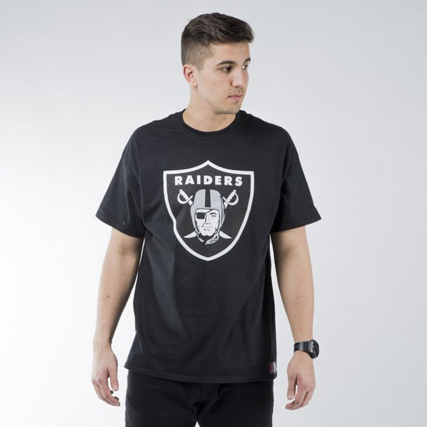 Koszulka Majestic Athletic Prism Large Logo Tee Oakland Raiders black (MOR1450DB)