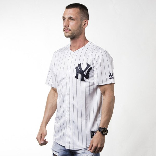 Koszulka Majestic Athletic T-shirt Jersey MLB New York Yaankes Replica white (MC7YANHWA00)