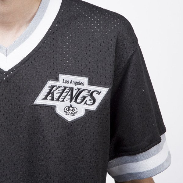 Koszulka Mitchell & Ness jersey Los Angeles Kings black Mesh V-Neck