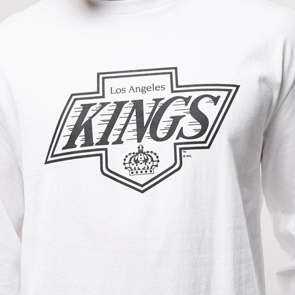 Koszulka Mitchell & Ness longsleeve Los Angeles Kings white Goal Tender
