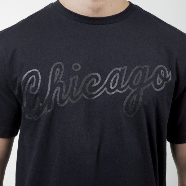Koszulka Mitchell & Ness t-shirt Chicago Bulls black Bank Shot Tailored