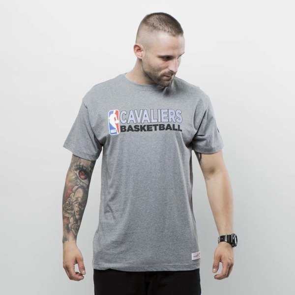 Koszulka Mitchell & Ness t-shirt Cleveland Cavaliers grey heather Team Issue 2 Traditional