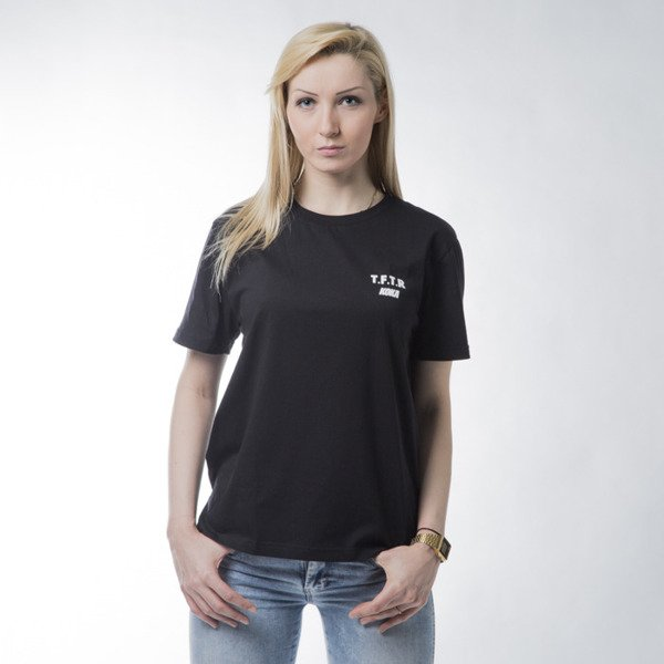 Koszulka damska Koka WMNS Take From The Rich Long Ts black