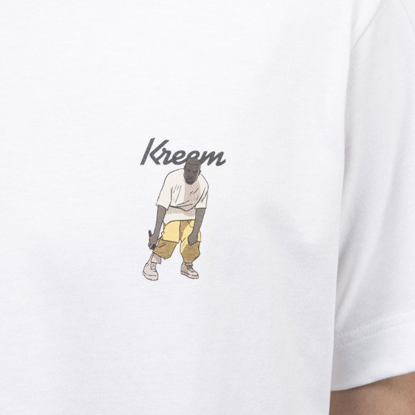 Kreem koszulka t-shirt YZY Dance white / multicolor 9161-2506/0129