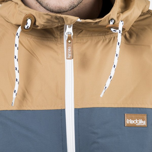 Kurtka Iriedaily Jacket Auf Deck steel blue