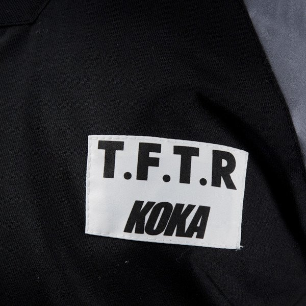 Kurtka Koka Tftr Respect Jacket black /  grey / white