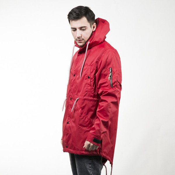 Kurtka Phenotype Teamred Fishtail Parka team red