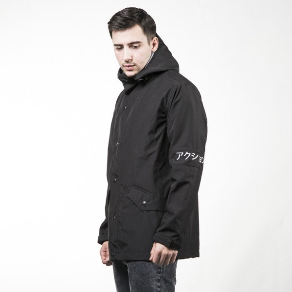 Kurtka We Peace It Rain Jacket Action black