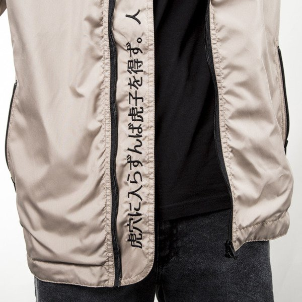 Kurtka We Peace It Rain Jacket WPI APP beige