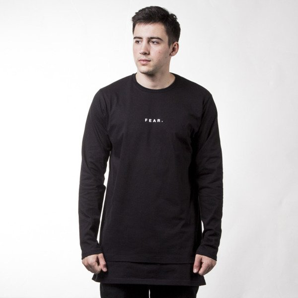 Longsleeve We Peace It Long Sleeve Fear black