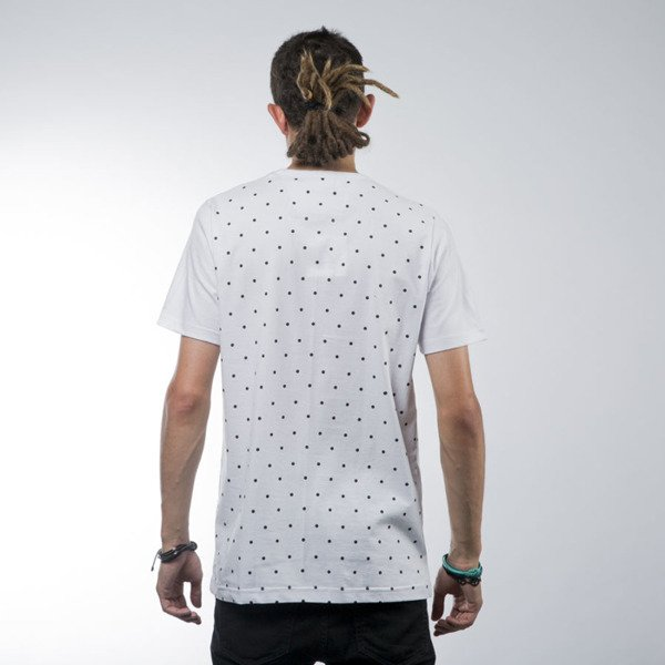 Luxx All koszulka t-shirt Logo Dots white