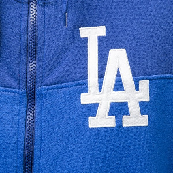Majestic Athletic bluza Croco Cut & Sew Full Zip Hoody Los Angeles Dodgers navy MLD2363NL