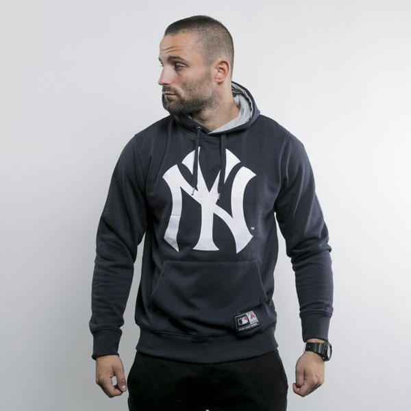 Majestic bluza hoody New York Yankees navy Basic Logo OTH (MNY1243NL)